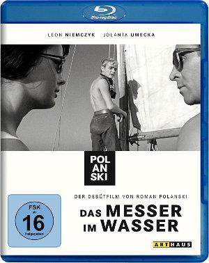 Das Messer im Wasser - Blu-Ray Cover
