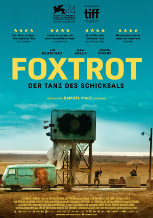 Foxtrot - Poster   Kriegsfilm, Drama