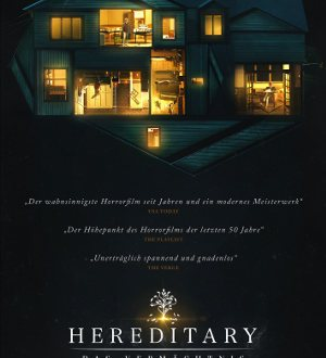 Hereditary - Das Vermaechtnis - Poster | Horrorfilm mit Toni Collette
