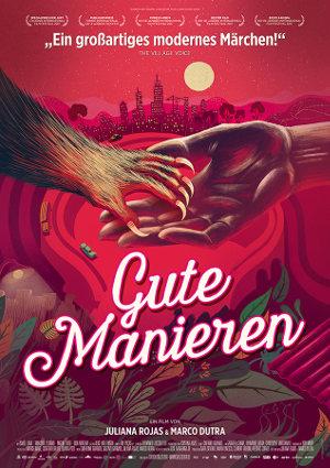 Gute Manieren - Poster   Grusel-Märchen über Werwölfe