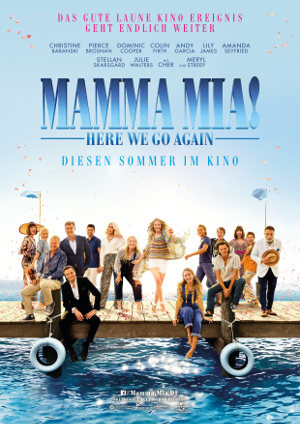 Mama Mia here we go again - Poster | Musical-Sequel