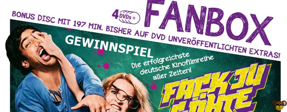 Fack Ju Göhte - Fanbox - Gewinnspiel