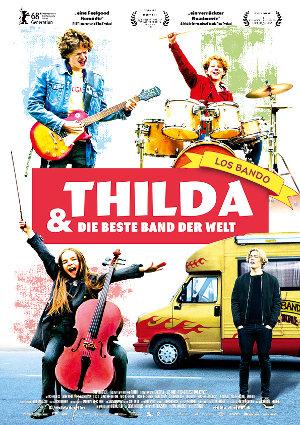 Thilda und die beste Band der Welt - Poster   Kinderfilm, Road Trip