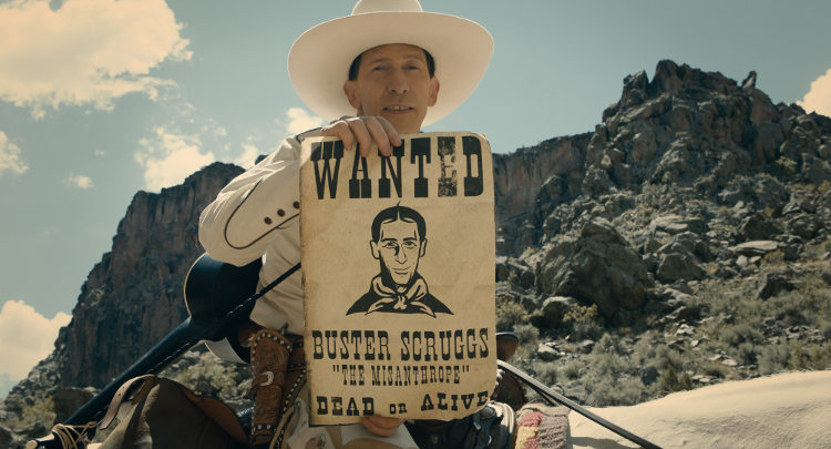 Neues Western-Epos auf Netflix: THE BALLAD OF BUSTER SCRUGGS