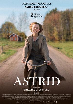 Astrid - Poster | Biopic über Schritfstellerin