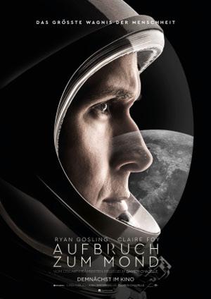 Aufbruch zum Mond - Poster | Biopic über Mondlandung
