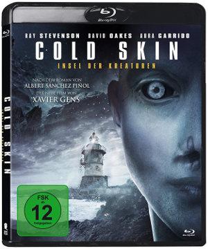 Cold Skin - Insel der Kreaturen - BluRay-Cover | Horrorfilm mit Leuchturm