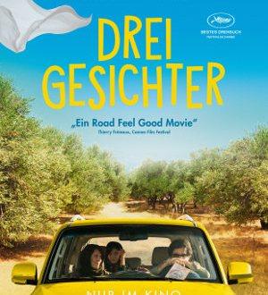 Drei Gesichter - Poster | Road Trip von Jafar Panahi