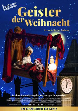 Geister der Weihnacht - Poster   Augsburger Puppenkiste Film