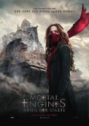 Mortal Engines - Krieg der Städte - Poster   Action Science Fiction