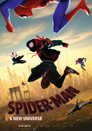 Spider-Man a new spiderverse - Poster | Animationsfilm Marvel