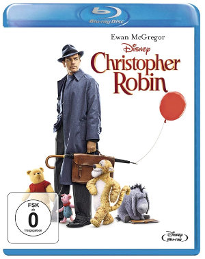 Christopher Robin - BluRay-Cover | (c) Disney