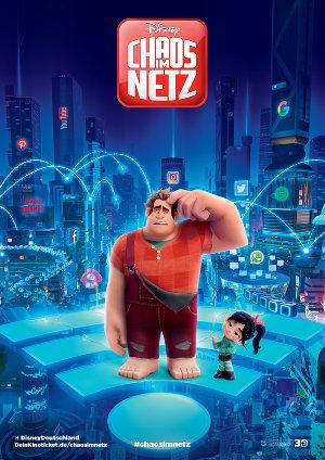 Chaos im Netz - Poster | Ralph breaks the internet