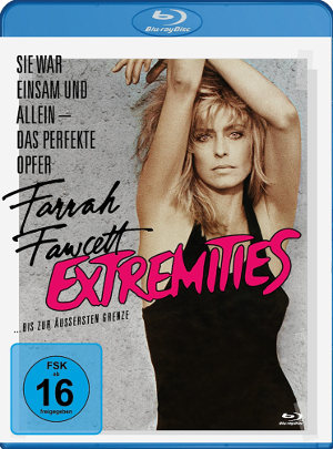 Extremities - Blu-Ray Cover | Filmrkitik, Review - Thriller