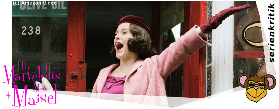 The Marvelous mrs. maisel - serie review | jetzt auf Amazon Video