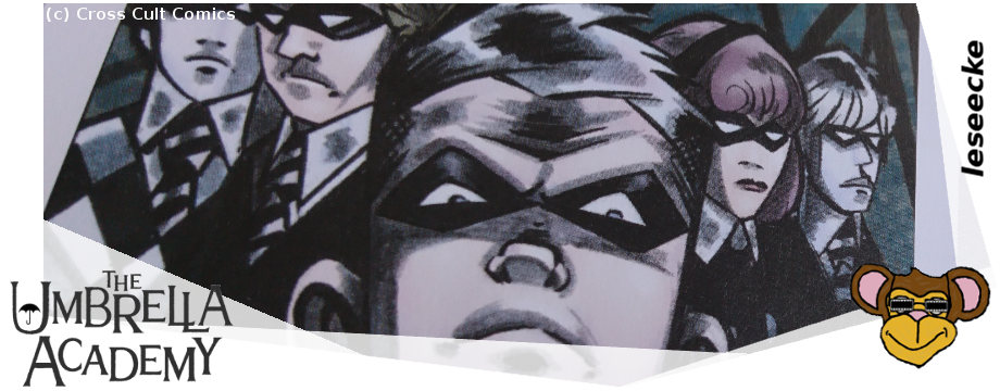 The Umbrella Academy - Band 1   Comic von Cross Cult