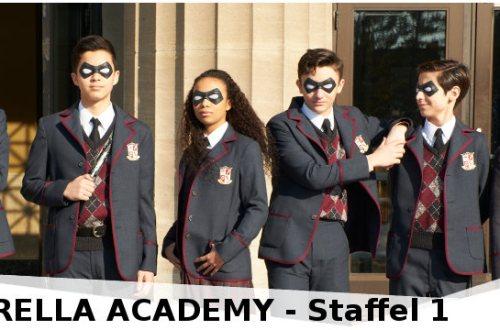 The Umbrella Academy - Staffel 1 - Review | Jetzt auf Netflix