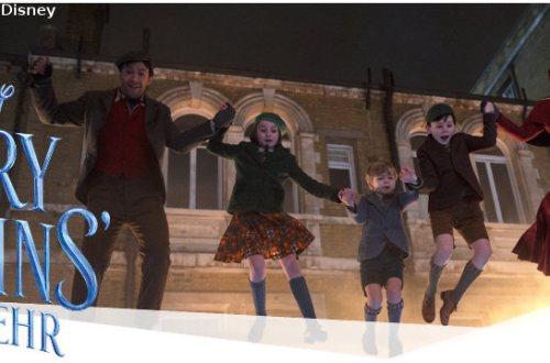 Mary Poppins Rückkehr - Filmkritik | Märchen-Fortsetzung