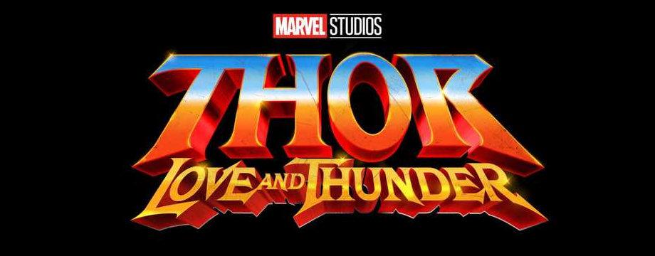Thor - Love and Thunder - Teaser Logo