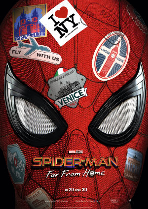 Spider-Man Far From Home - Poster | Tom Holland