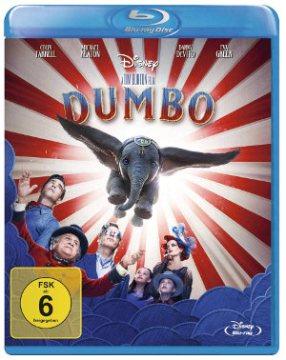 Dumbo - BluRay-Cover | von Tim Burton Disney