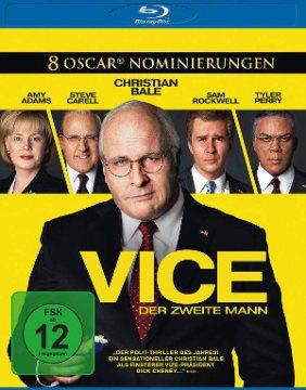 Vice - Der Zweite Mann - BluRay-Cover | Satire