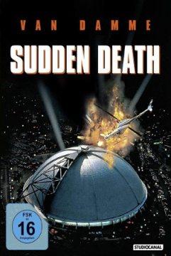 Sudden Death - Blu-Ray-Cover mit John-Claude Van Damme