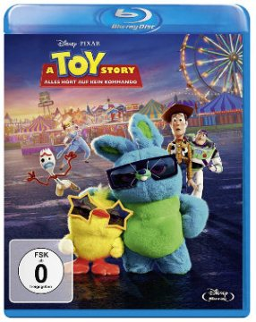 A Toy Story - Blu-Ray-Cover | ab de 12.12.2019 im Handel