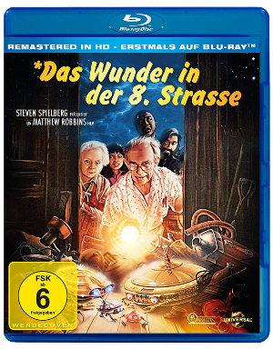 Das Wunder in der 8. Straße - BluRay-Cover | Weihnachtsfilm