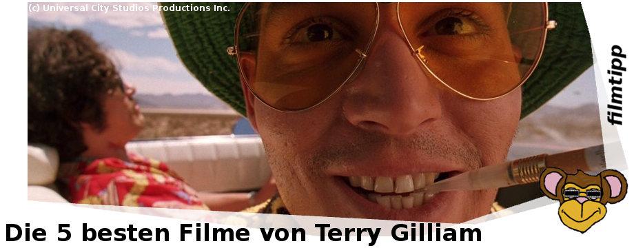 Die fünf besten Filme von Terry Gilliam
