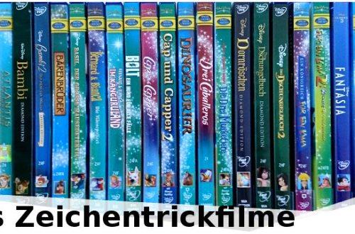 Disneys Zeichentrickfilme - ein Überblick | Liste der Animationsfilme von Walt Disney