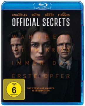 Official Secrets - Blu-Ray-Cover