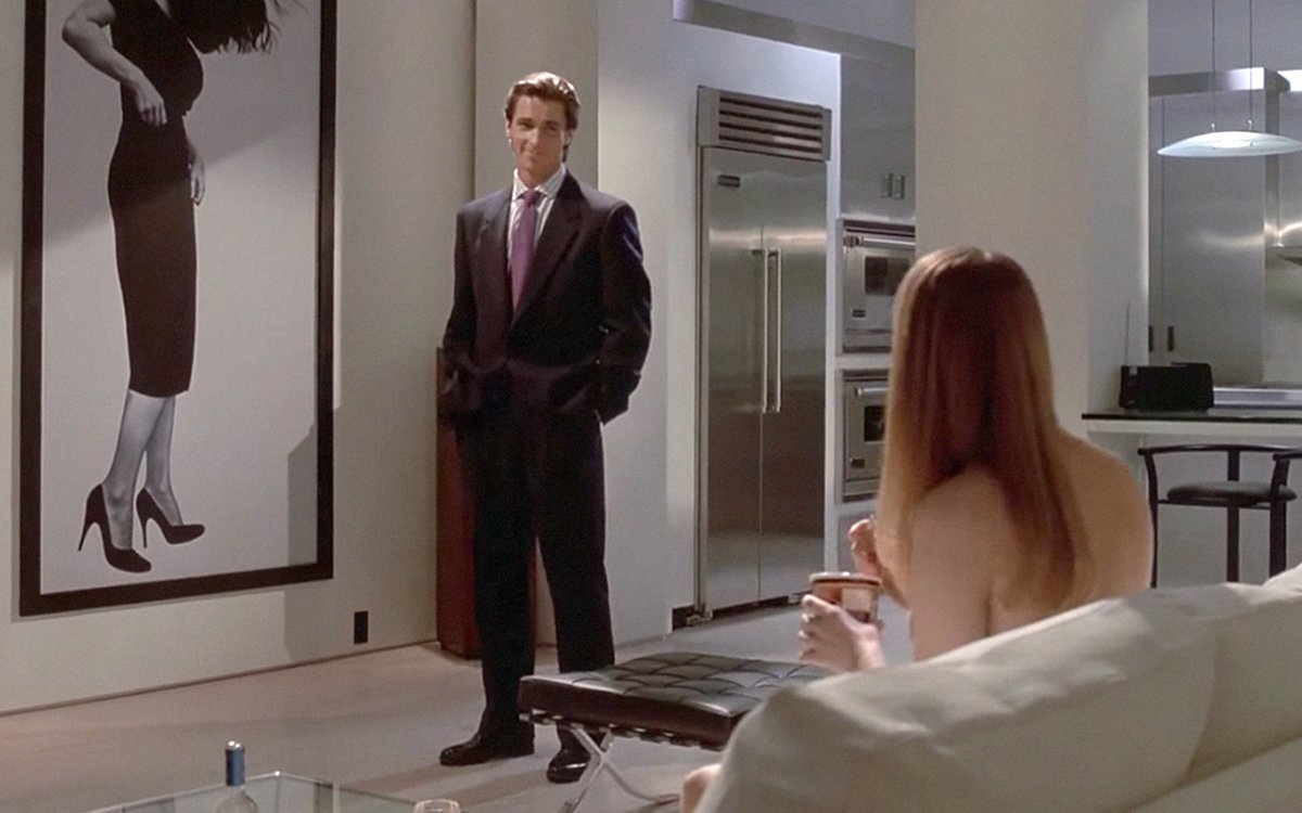American Psycho Film And Furniture