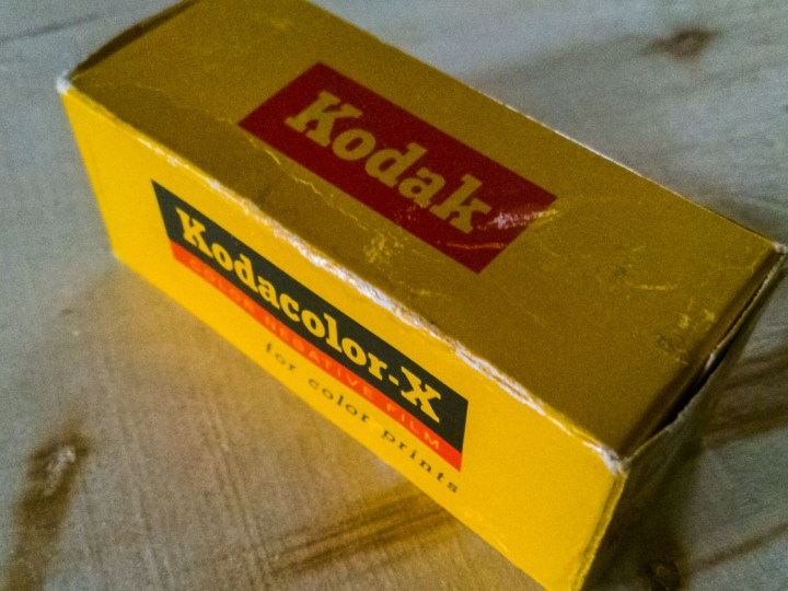 I Shot an Old Roll of Kodacolor-X