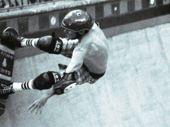Skateboarding on 35mm