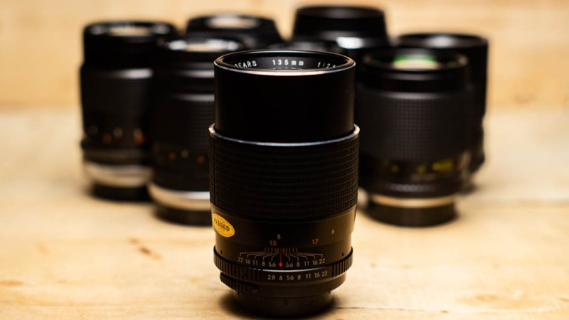 Another Vintage 135mm Lens