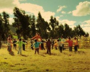 Niños Ayacucho fotografía fija
