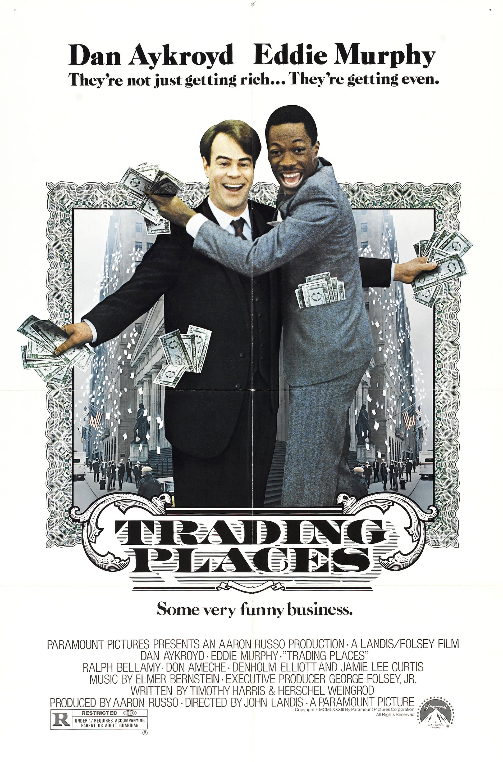 Trading Places 1983 The Film Base