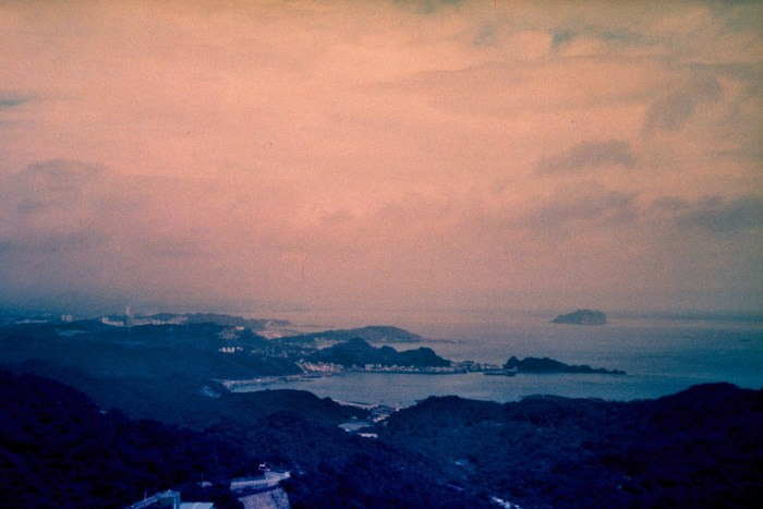 lomochrome purple, Contax TVS