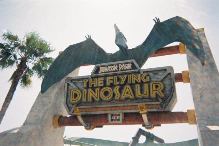 The flying dinasour USJ