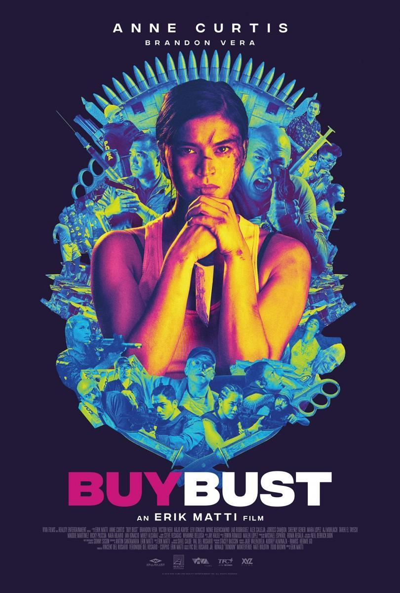BUYBUST Poster Starring Anne Curtis