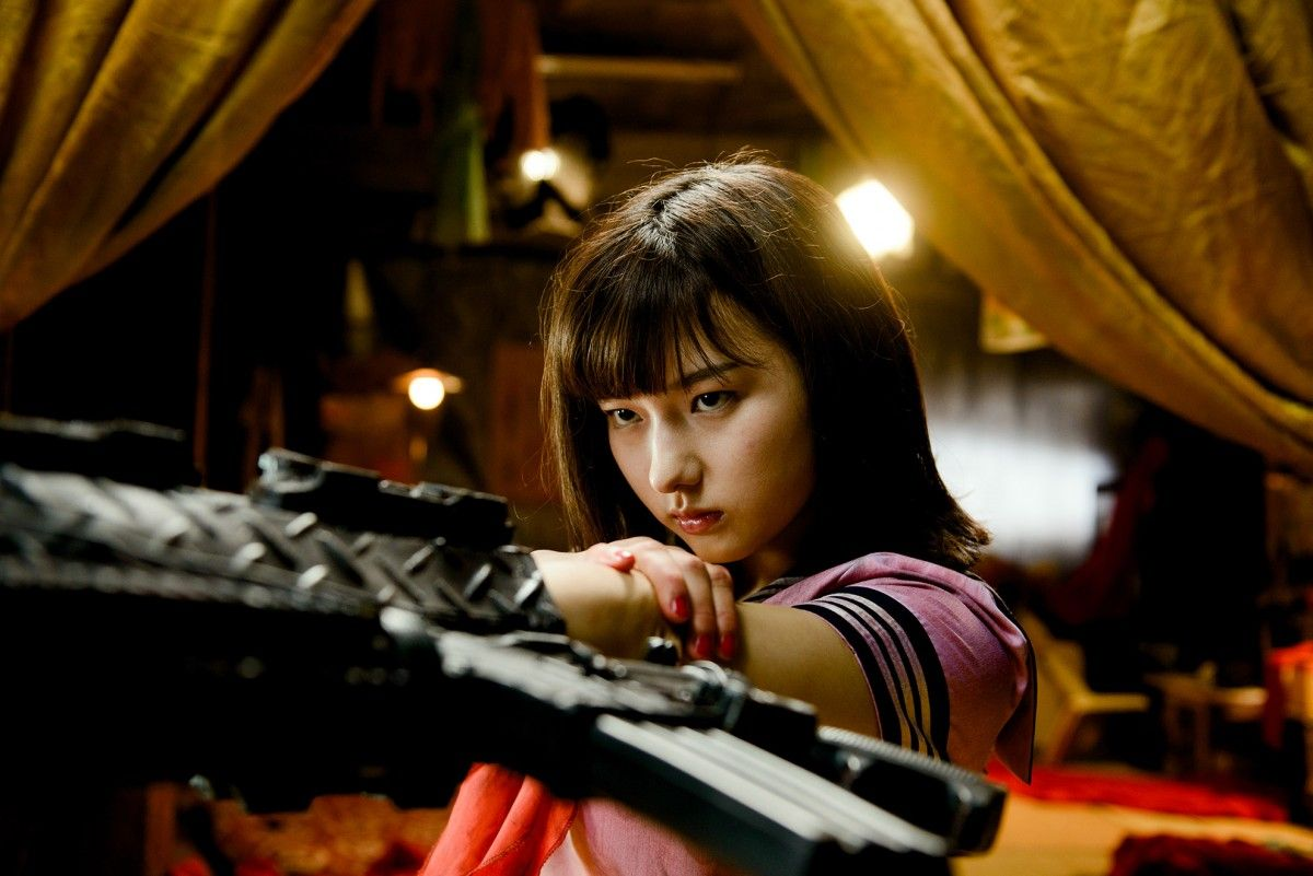 RISE OF THE MACHINE GIRLS: Girls, Girl Fights, Gun Fights AND Tak Sakaguchi? Yes, Please!