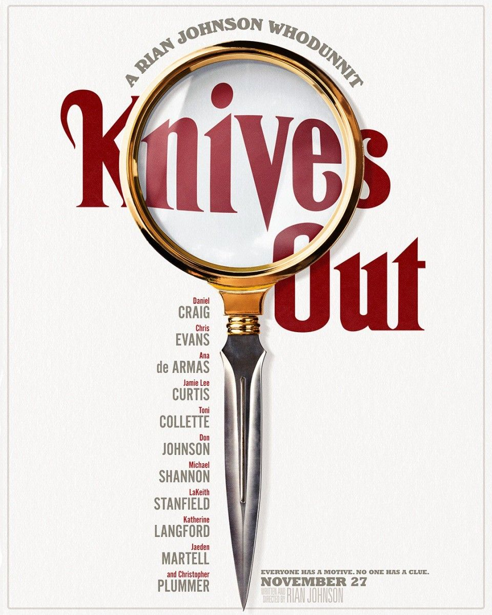 KNIVES OUT - Teaser Poster