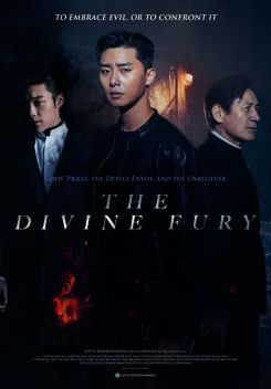 THE DIVINE FURY - New International Sales Poster
