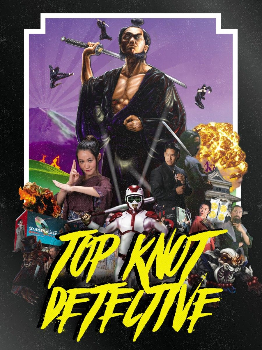 Top Knot Detective - Poster