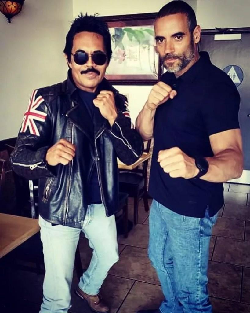 Art Camacho and Juan Manuel Olmedo