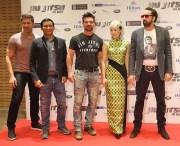 JuJu Chan and the cast of Jiu Jitsu