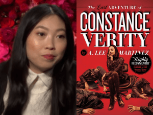 "Awkwafina to star in ""The Last Adventure of Constance Verity"""