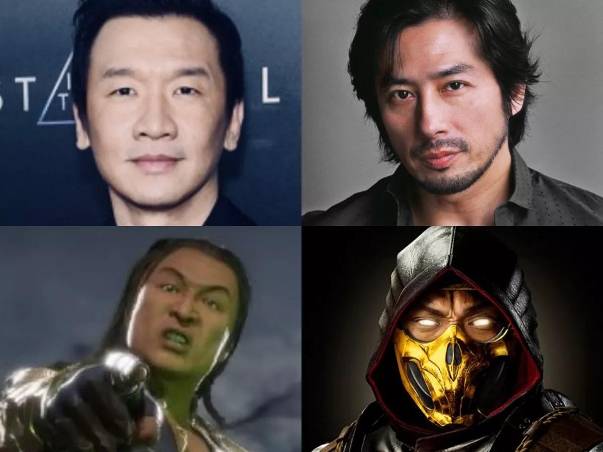 Chin Han and Hiroyuki Sanada
