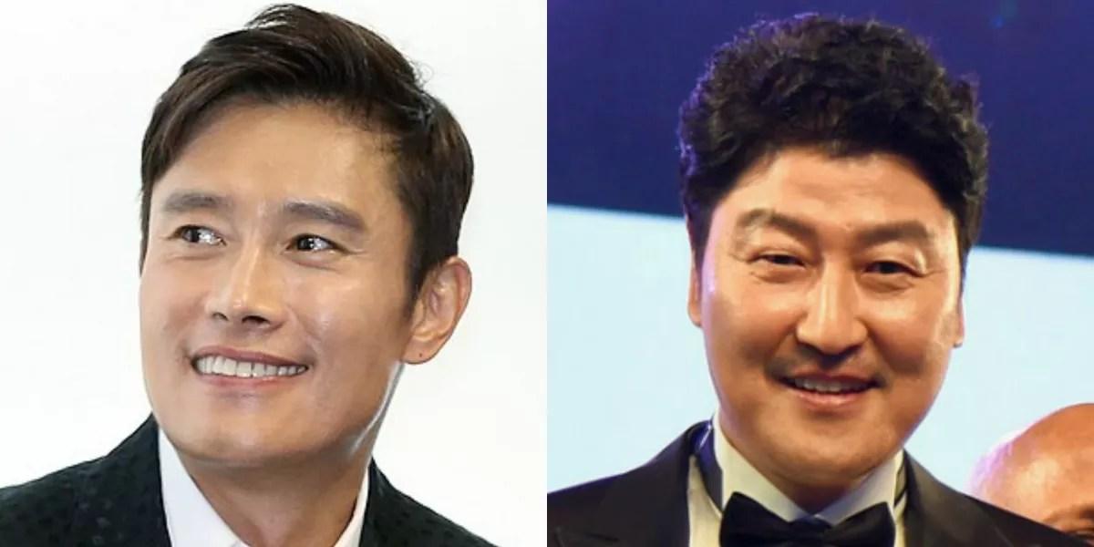 Lee Byung-Hun and Song Kang-Ho